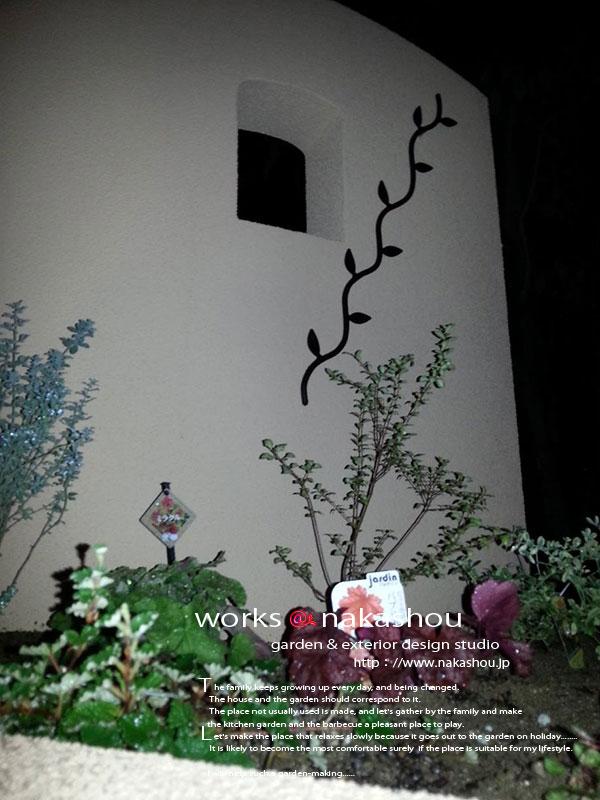 壁飾り工事
